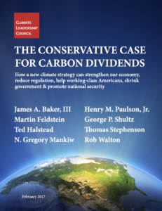 Cover: The Conservative Case for Carbon Dividends