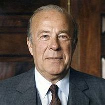George P. Shultz portrait