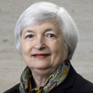 Janet Yellen portrait