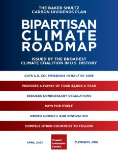 Report cover: Bipartisan Climate Roadmap