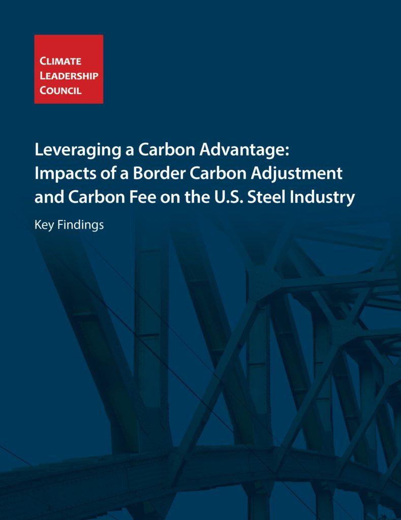 Leveraging a Carbon Advantage Report Cover